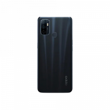 Achterkant van Oppo A53s telefoon